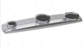 AmericanS tandard 4101.000p.075 Arch Metal Escutcheon Plate, Stainless Steel