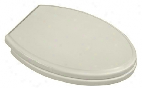 American Standard 5214.110.222 Town Square Elongated Toilet Seat, Linen