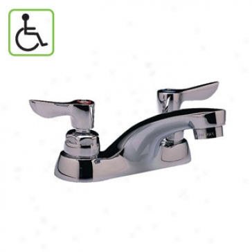 American Standard 5500.140.002 Monterrey Centerset Lavatory Faucet, Polished Chrome