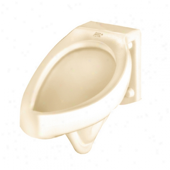 American Standard 6574.011.021 Jetbrook 1.0 Gpf Urinal - Blowout And Back Spud, Bone