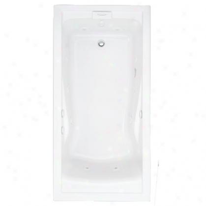 American Standard 7236vac Evolution Corner Whirlpool, White