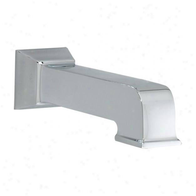 American Stqndzrd 8888.089.295 Town Square Slip-on Tub Spout, Satin Nickel