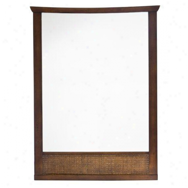 American Standard 9212.101.336 Tropic Wall Mirror, Nutmeg