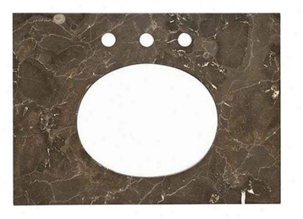 American Ensign 9212.124.185 25 X 20 Marble Vanity Chief, Marble