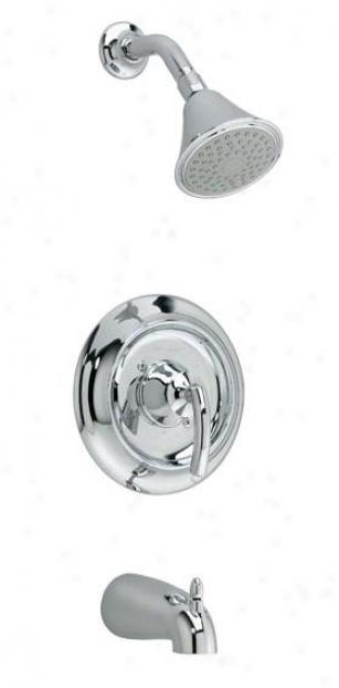 American Standard T038.502.002 Tropic Bath/ Shower Trim Kit, Polished Chrome