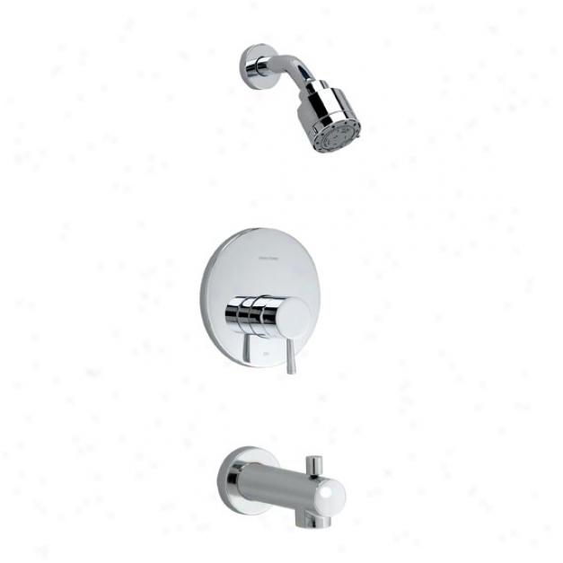 American Standard T064.502.002 Serin One Bath/ Shower Adjust Kit, Polishee Chrome
