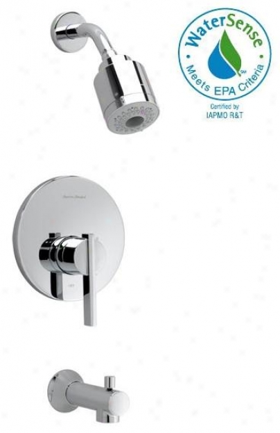 American Standard T430.507.295 Berwick Flowise Shower Trim Kit Only, Satin Nickel