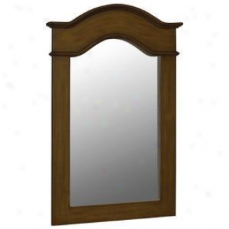 Beile Foret 80070 36 In. X 24-1/2 In. Framed Vanity Mirror, Aged Walnut
