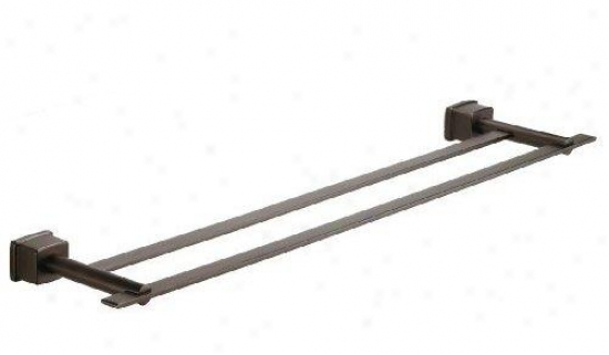 Belle Foret Bfdtb400orb 24 Double Towel Bar, Oil Rubbed Bronze