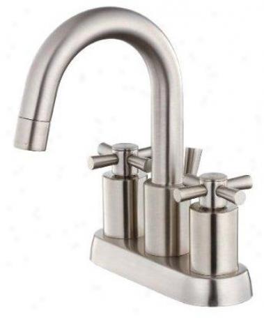 Belle Foret Bfl350sn Minispread Faucet, Satjn Nickel