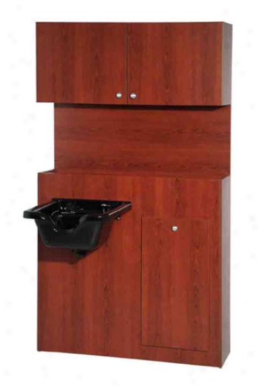 Belvedere Pscg160tf-yc Congo Partition Storage Cabinet, Yorkshire Cherry