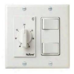 Broan-nutone Vs67wh Bath Fan Switch, White