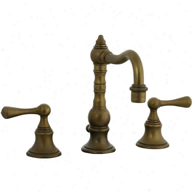 Cifial 268.130.v05 Highlands 3-hole Widespread Lavatory Faucet, Agee Brass