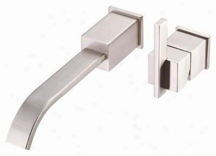 Danze D216044bnt Sirius Single Handle Wall Mount Lavatory Faucet Trim, Brushed Nickel