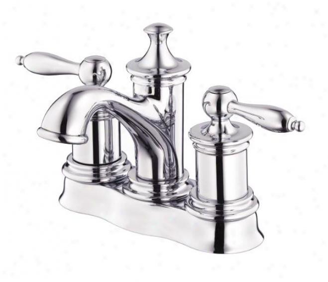 Danze D301010 Prince Double Handle Centerset Lavatory Faucet, Chrome