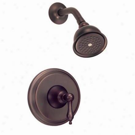 Danze D500540rb Fairmont Single Control Shower Only Faucet, Oil Rub Bronze