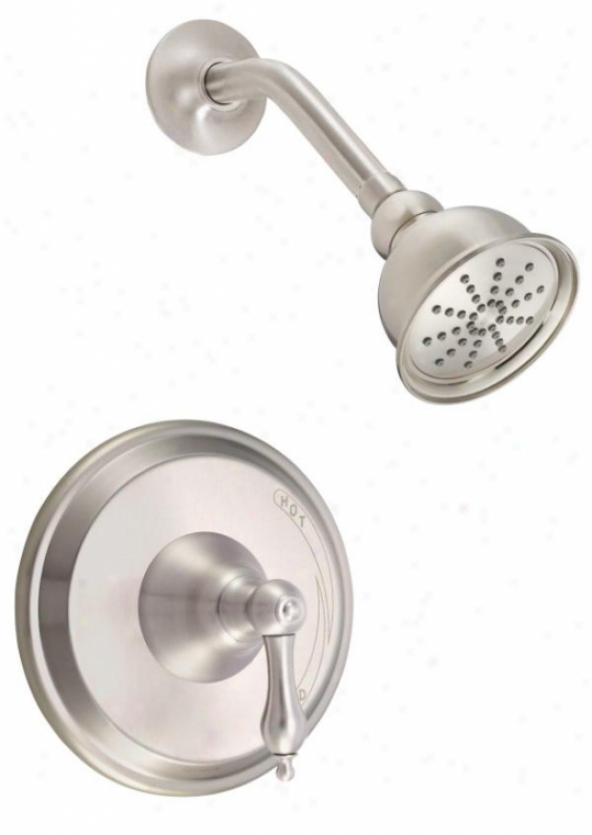 Danze D501540bnt Fairmont Trim Only Single Handle Pressure Balance Shower Faucet, Abject Flow Rate, Bru