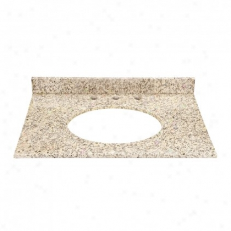 Decolav 1667-gca Jordan Granite Countertop With A 3.75 In. Backsplash, Carmello