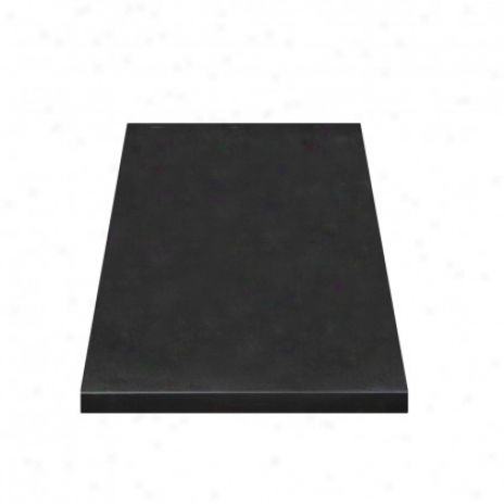 Decolav 1669-gbk Jordan Granite Countertop, Black Granite