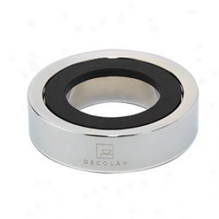Decolav 9020-cp Mounting Ring, Polished Chrome