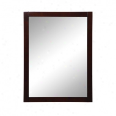 Decolav 9707-esp Cameron 24 Wall Mirror, Espresso