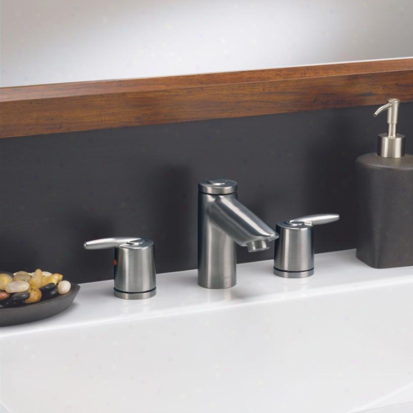 Delta h715pb single metal lever handle kit polished brass Delta antique brass bathroom faucets