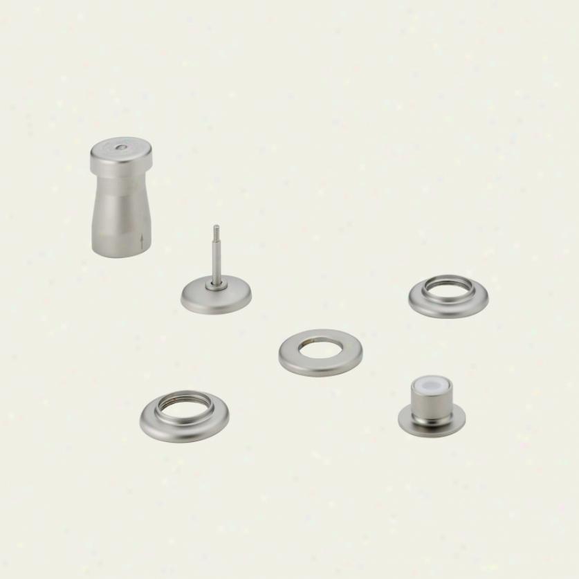 Delta 44-nnlhp Classic Bidet Faucet Less Handles, Pearl Nickel
