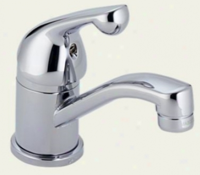 Delta 750 Classic Single Haft Centerset Bath Faucet Less Pop-up, Chrome