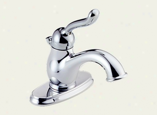 Delta 578-wfmpu Leland Single Handle Centerset Lavatory Faucet, Chrome
