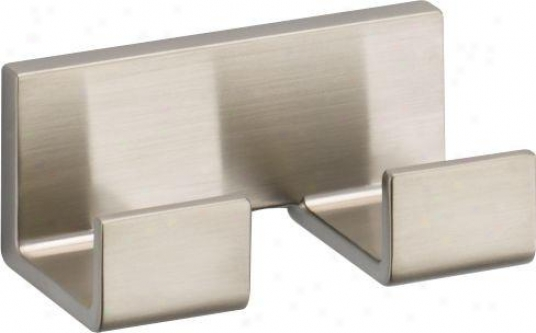 Delta 77736-ss Vero Double Robe Hook, Brilliance Stainless