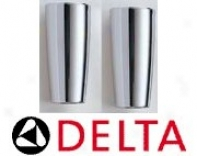 Delta A12 Single Metal Lever Handle Accent, Chrome