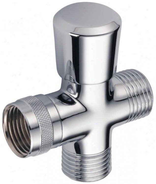 Delta Rp36005bb Shower Arm Diverter, Brilliance Brass