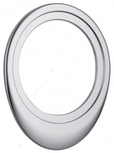 Delta Rp40588 Decorative Oval Trim Ring, Chrome