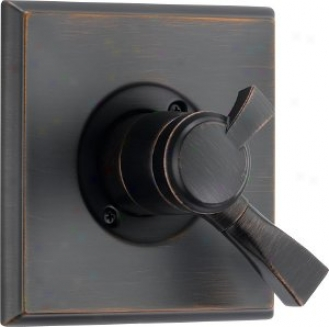 Delta T17051-rb Dryden Monitor 17 Series Valve Trim But, Venetian Bronze