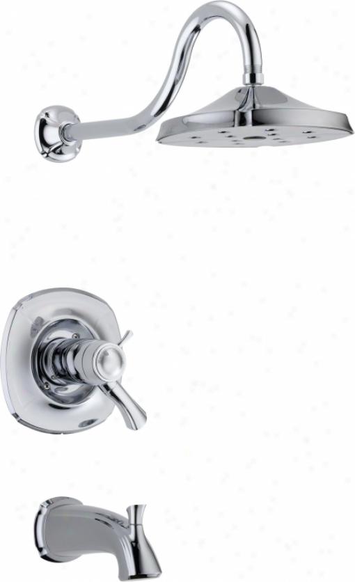 Tempassure 17t Series Tub Shower Trim T17t497 Rb: Speakman S-1564 Rainier 5 7/8 Tub Spout With Diverter