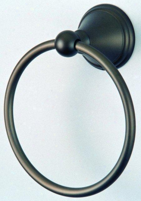 Dwsigner Trimscape Ba2974orb Governor 6 Towel Ring, Oil Rubbed Bronze