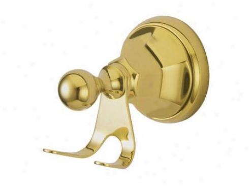 Designer Trimscape Ba4817pb Metropolitan Robe Hook, Polished Brass