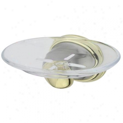 Designer Trimscape Ba625snpb Magellan Ii Soap Dish , Polished Brass/satin Nickel
