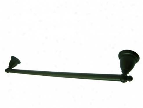 Designer Trimscape Ba7971orb English Vintage 24 Single Towel Bar, Oil Rubbed Bronze