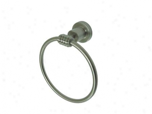 Designer Trimscape Bah8614sn Milano 6 Towel Ring, Satin Nickel