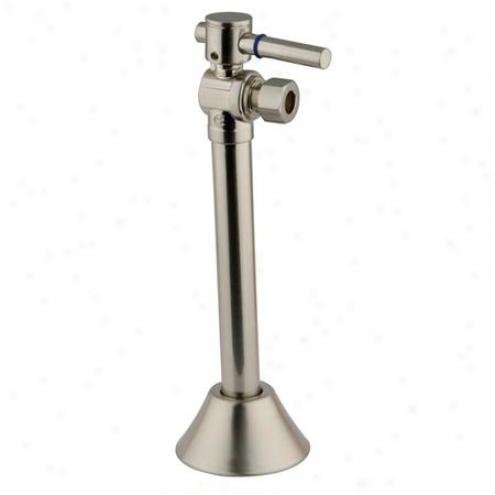 Designer Trimqcape Cc83208dl 1/2 Sweat, 3/8 Overal Diameter Comp, 5 Extension, Satin Nickel
