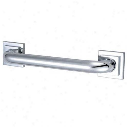 Designer Trimscape Dr614121 Claremont Decor 12 Grab Bar, Polished Chrome