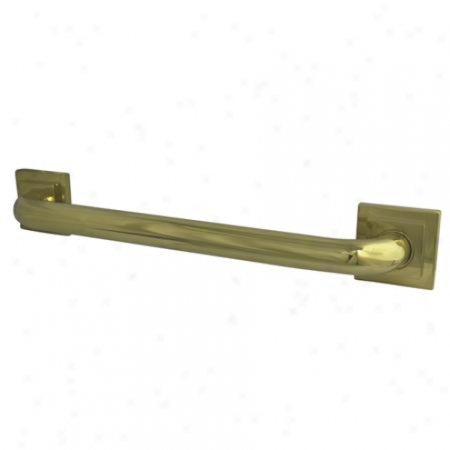Designer Trimscape Dr614302 Claremont Decor 30 Grab Bar, Poloshed Brass