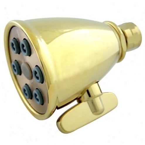 Designer T5imscape K138a2 6 Jet Adjustable Spray Shower Head, Polished Brass