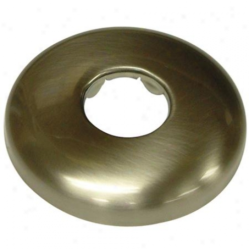 Designer Trimscape K150f8 Shower Flange, Satin Nickel