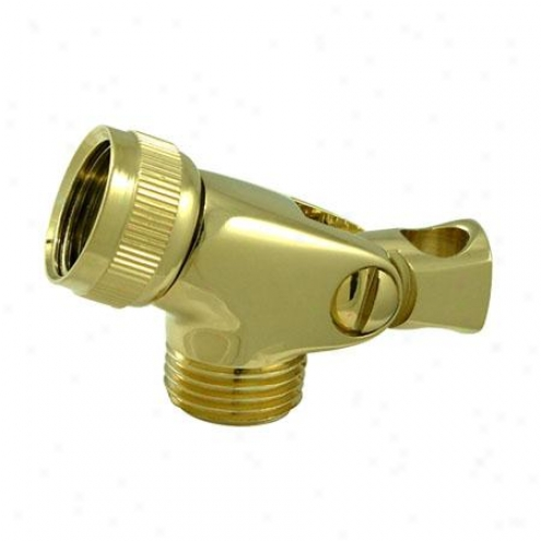 Designer Trimscape K172a2 Brass Swwivel Connector, Polished Brass