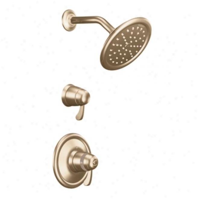 Donner Premier Ts3400az Exacttemp 3/4 Thermostatic Shower (trim Only), Antique Bronze