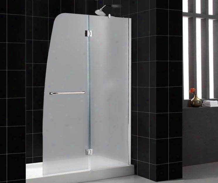 Dreamline Dl6314c-01fr2 Aqua Shower Door & Tray Combo, Chrome