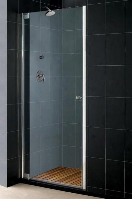 Dreamline Shdr-4140728-01 Elegance 40 3/4 - 42 3/4 Shower Door, Chrome