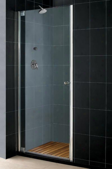 Dreamline Shdr-4154728-01 Elegance 54 1/2 - 56 1/2 Shower Door, Chrome
